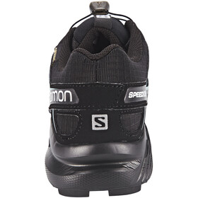 Salomon Speedcross 4 GTX Sko Damer, black/black/metallic bubble blue